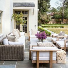 40 Fabulous Lonny Outdoor Spaces on