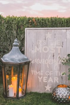 Rustic wedding inspiration: http://www.stylemepretty.com/living/2014/12/12/holiday-cocktail-party-inspiration-a-31-bits-giveaway/ | Photography: Anna Delores - http://www.annadelores.com/