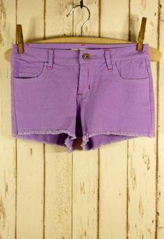 Neon Shorts in Purple