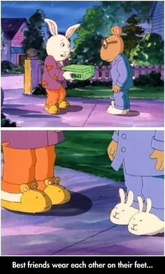 Intense Friendship.. @Jasmine Vasquez can we get slippers with each others faces on them ? :D