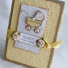 Baby Makes Three Card