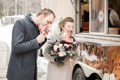 Real Weddings 2017: Inside a seriously Canadian affair, with pond hockey and BeaverTails