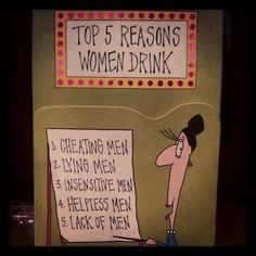 Top 5 Reasons Women Drink