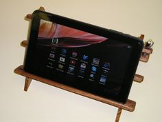 Tablet PC  iPad Exotic Wood Stand by ThresholdDesigns on Etsy, $57.77