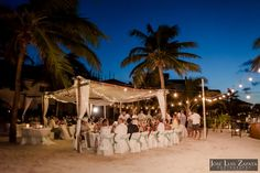 Belizean Shores Wedding | Ambergris Caye Beach Wedding | Reception | Jose Luis Zapata Photography