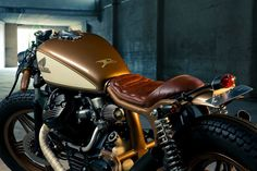 Honda CX 500 Cafe Racer by Kingston Custom - Moto Revue