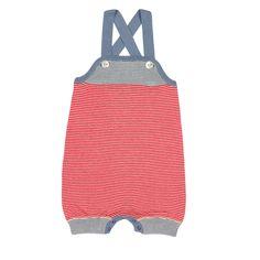 Baby Romper Suit ecru/red - FUB Online - Kinderkleding