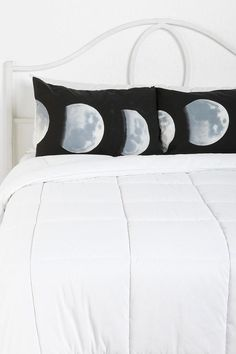 Moon Phase Pillowcase - Set Of 2 #urbanoutfitters