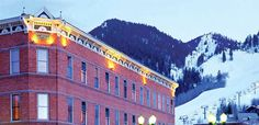 Just a nice picture of an old building in downtown aspen.