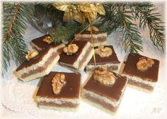 Czech Recipes, Ethnic Recipes, Winter Christmas, Xmas, Biscuit Cookies, Christmas Cookies, Baked Goods, Tiramisu, Baking Recipes