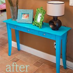 An easy and cheap afternoon makeover to freshen things up.
