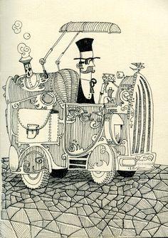 Sketchbook part V by Gustavo Rinaldi, via Behance