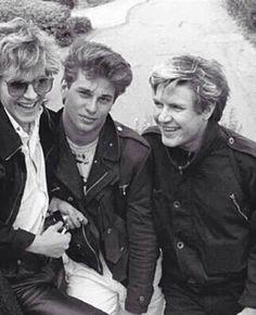 Nick, Roger, and Simon
