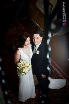 6fbe15a077f9a Beautiful Rana wearing the Gladstone chiffon wedding dress by Enzoani.  Gorgeous! Chic Wedding Dresses