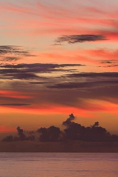Caribbean Sunrise  by Dirk Seifert