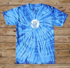 2011 Hangout Fest Tie Dye T-Shirt - Blue - $20.00