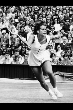Evonne Goolagong-Cawley. One of the many inspirations for our tennis scroll