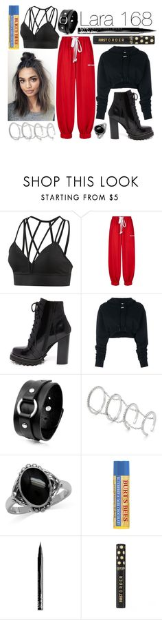 """""""Lara - 168 Hours (Revisited)"""" by leonorgomes on Polyvore featuring Reebok, Natasha Zinko, Jeffrey Campbell, Off-White, Fallon, Burt's Bees and NYX"""