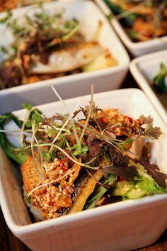 Sea bass bowl food