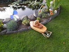 Ein #Boot für den #Gartenteich - mit IXO-Antrieb und sogar mit Licht!