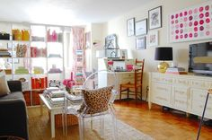 The most exquisite 350 sq ft Manhatten studio apartment! Adorable & sophisticated.