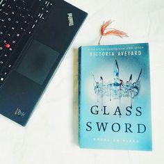 Glass Sword by Victoria Aveyard. follow my ig: @princesariina