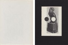 Untitled Collage of Book Pages by Louis Reith