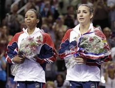 Aly Raisman - Can't wait to see her and the Fab Five in Memphis in October! Gabby Douglas and Aly Raisman, two future Olympians Sport Gymnastics, Artistic Gymnastics, Gabby Douglas, Aly Raisman, Olympic Team, Pink Nation, Team Usa, Olympians, Girls Dream