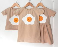 EGG dress / COCO dress. Baby and Kid. 3-color by DoubleYellowLine