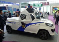 Chinese Company Has Developed Armored Electric Police Car