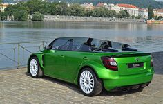 Skoda Fabia RS 2000 Concept Convertible, Skoda Fabia, Love Car, Car Manufacturers, Exotic Cars, Concept Cars, Cars And Motorcycles, Vintage Cars, Cool Cars