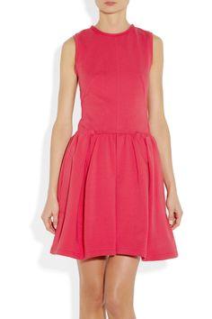 Carven|Molleton jersey dress|NET-A-PORTER.COM