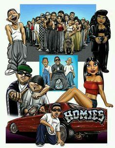 Homies Chicano Love, Chicano Art, Baby Joker, Lowrider Art, Lowrider Toys, Chola Girl, Estilo Cholo, Chicano Drawings, Cholo Art