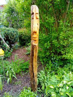 Skulptur aus Treibholz, 145 cm, von Maliha Rosemarie Arch, Outdoor Structures, Garden, Plants, Home, Driftwood, Sculptures, Bow, Garten