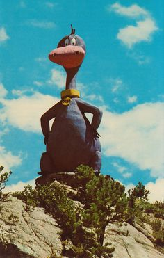 Flintstones Bedrock City - Custer, South Dakota. Love the Flintstones...brings back wonderful memories
