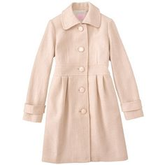 pretty pink coat for winter