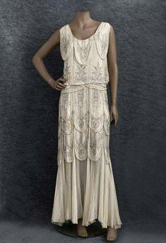 1930 evening dress