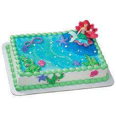 Little Mermaid pull-apart cake