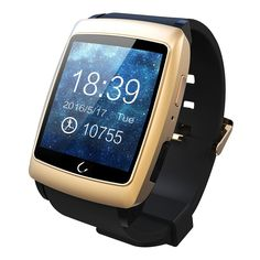 FLOVEME [Smart Watch Series] Bluetooth Smart Wrist Watch Phone For Android Smartphones - Gold. 1. Smart Watch - Android phone including Samsung Galaxy Note 5/4/3/2, S6/S6, Edge/S5/S4/S3/S2, LG G2/G3/G4, HTC ONE M7/M8/M9, Sony Xperia Z4/Z3/Z2, OPPO, VIVO, Xiaomi, Huawei, Other Android Smartphone. 2. Daily Life Functions - Passometer, Sleep Tracker, Message Reminder, Call Reminder, Answer Call, Dial Call, Remote Control, Push Message, Bluetooth music playing, Anti lost remind Bidirectional...