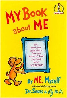 My Book about Me - children write their autobiographies