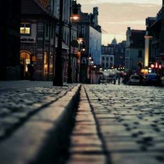 Imagen de street, city, and light