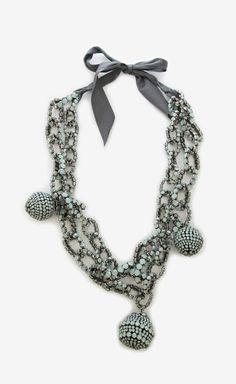 Vera Wang Aquamarine Necklace   (want)