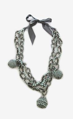 Vera Wang Aquamarine Necklace   (want)