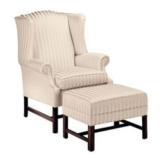 Ethan Allen Milford wing chair.