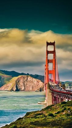 Golden Gate Mobile Wallpaper - ID 13447 Beste Iphone Wallpaper, Hd Phone Wallpapers, Iphone 6 Plus Wallpaper, Phone Backgrounds, Mobile Wallpaper, Wallpaper Backgrounds, Iphone Pics, Cloud Wallpaper, Quad