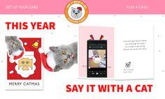 Merry Catmas! Karten von ShareTapes