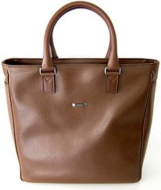 ecdeac96a7 Salvatore Ferragamo tan leather hand bag tote style made in Italy Leather  Pouch