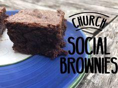 Church Social Brownies – I Read Cookbooks for Fun Brownies, Desserts, Fun, Cake Brownies, Tailgate Desserts, Deserts, Postres, Dessert, Plated Desserts