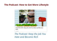 Access the LIVE podcast: Keep the Job You Hate and Become Rich: http://auto-pilot-biz.com/PTT