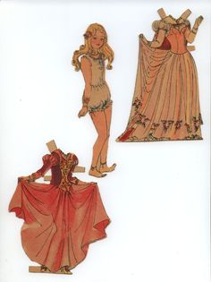 Foreign princess doll * For lots of free Christmas paper dolls International Paper Doll Society #ArielleGabriel artist #ArtrA thanks to Pinterest paper doll & holiday collectors for sharing *